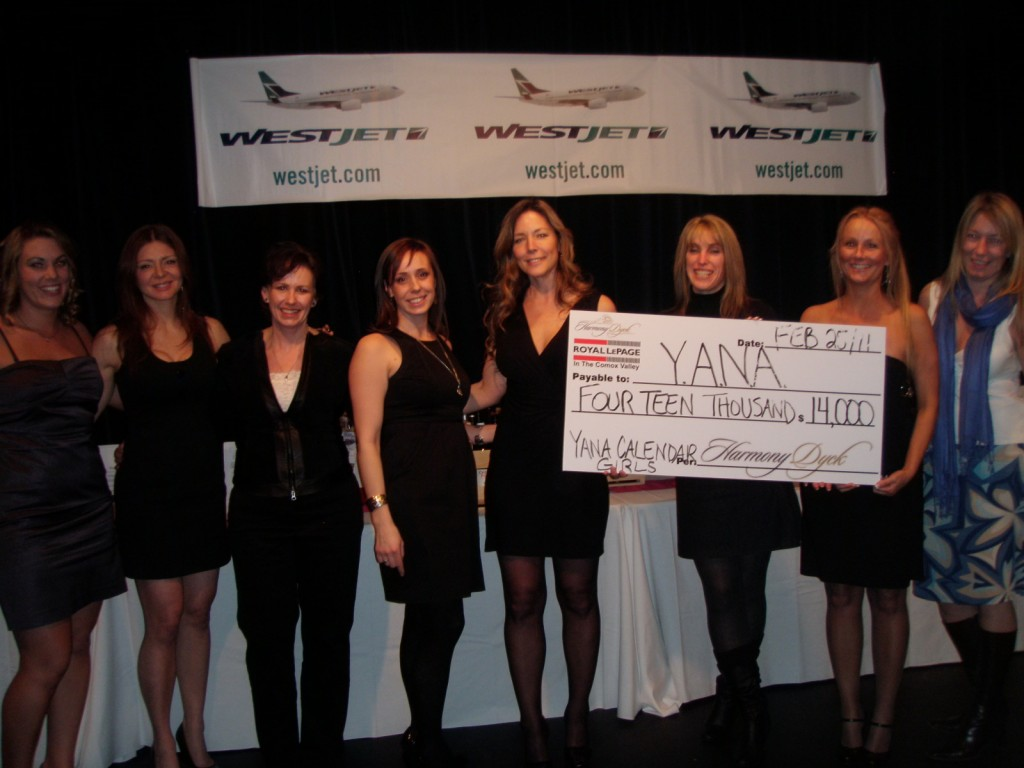 Y.A.N.A. Calendar Girls Donate $14,000 to the Charity